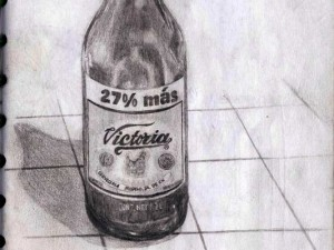 Drawing Mexican Beer