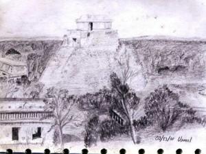 Uxmal Sketch