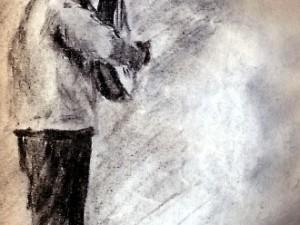 Guanajuato Guitarist sketch