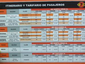 Bolivia Tren de la Muerte Precios