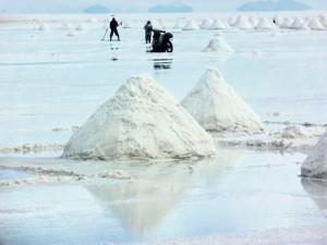 Uyuni Salt Mining